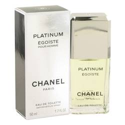 Egoiste Platinum Cologne by Chanel, 1.7 oz EDT Spray for Men