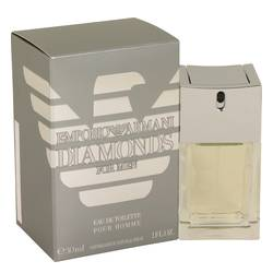 Emporio Armani Diamonds Cologne by Giorgio Armani, 30 ml Eau De Toilette Spray for Men