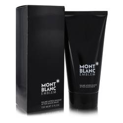 Montblanc Emblem After Shave Balm by Mont Blanc, 5 oz After Shave Balm for Men