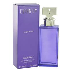Eternity Purple Orchid Perfume by Calvin Klein, 3.4 oz EDP Spray for Women