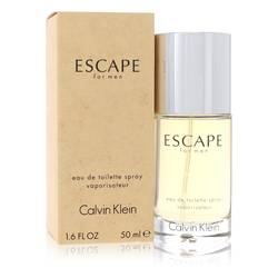 Escape Cologne by Calvin Klein, 50 ml Eau De Toilette Spray for Men from FragranceX.com