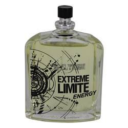 Extreme Limite Energy Cologne by Jeanne Arthes, 3.3 oz Eau De Toilette Spray (Tester) for Men EXLE33T