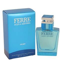 Ferre Acqua Azzurra Cologne by Gianfranco Ferre, 1 oz Eau De Toilette Spray for Men