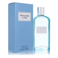 First Instinct Blue Perfume by Abercrombie & Fitch, 100 ml Eau De Parfum Spray for Women