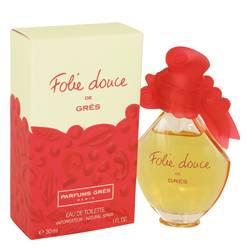Folie Douce Perfume by Parfums Gres, 30 ml Eau De Toilette Spray for Women