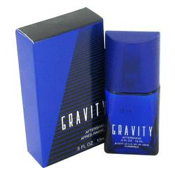 Gravity After Shave by Coty, .5 oz After Shave for Men