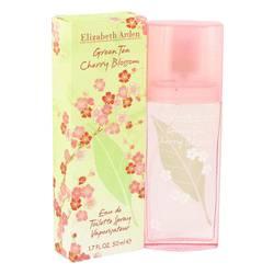 Green Tea Cherry Blossom Perfume by Elizabeth Arden, 50 ml Eau De Toilette Spray for Women