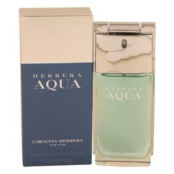 Herrera Aqua Cologne by Carolina Herrera, 30 ml Eau De Toilette Spray for Men