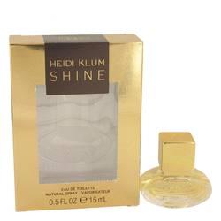 Shine Perfume by Heidi Klum, 0.5 oz Eau De Toilette Spray for Women