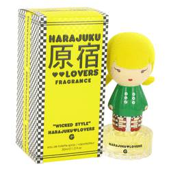 Harajuku Lovers Wicked Style G Perfume by Gwen Stefani, 1 oz Eau De Toilette Spray for Women