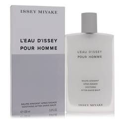 L'eau D'issey (issey Miyake) After Shave Balm by Issey Miyake, 100 ml After Shave Balm for Men from FragranceX.com