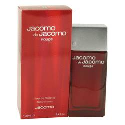 Jacomo De Jacomo Rouge Cologne by Jacomo, 100 ml Eau De Toilette Spray for Men from FragranceX.com
