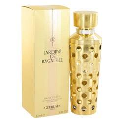 Jardins De Bagatelle Perfume by Guerlain, 3.1 oz Eau De Toilette Spray Refillable for Women