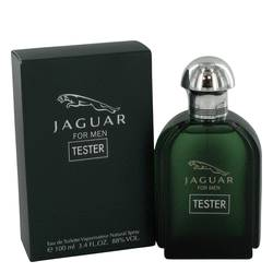 Jaguar Cologne by Jaguar, 100 ml Eau De Toilette Spray (Tester) for Men from FragranceX.com