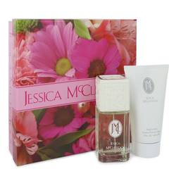 Jessica Mc Clintock Gift Set by Jessica McClintock Gift Set for Women Includes 3.4 oz Eau De Parfum Spray + 5 oz Body Lotion