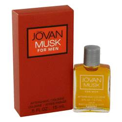 Jovan Musk After Shave by Jovan, .5 oz Aftershave/Cologne for Men