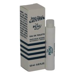 Jean Paul Gaultier Le Beau Sample by Jean Paul Gaultier, .02 oz Vial (sample Fraicheur Intense) for Men JPGLBM