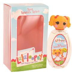 Lalaloopsy Perfume by Marmol & Son, 3.4 oz Eau De Toilette Spray (Spot Splatter Splash) for Women