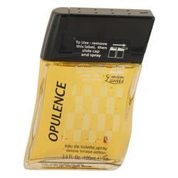 Lamis Opulence Cologne by Lamis, 3.3 oz Eau De Toilette Spray Deluxe Limited Edition (unboxed) for Men