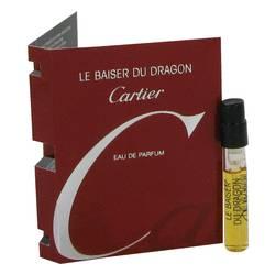 Le Baiser Du Dragon Sample by Cartier, .05 oz Vial (sample) for Women