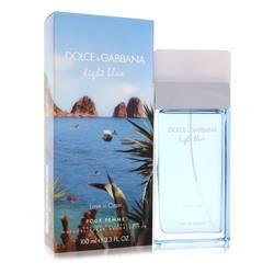 Light Blue Love In Capri Perfume by Dolce & Gabbana, 3.4 oz Eau De Toilette Spray for Women