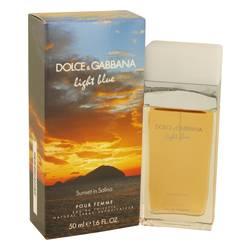 Light Blue Sunset In Salina Perfume by Dolce & Gabbana, 1.6 oz Eau De Toilette Spray for Women