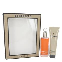 Lagerfeld Gift Set by Karl Lagerfeld Gift Set for Men Includes 3.3 oz Eau De Toilette Spray + 5 oz Shower Gel