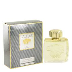 Lalique Cologne by Lalique, 2.5 oz Eau De Parfum Spray (LIon Head) for Men