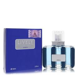 Lively Cologne by Parfums Lively, 3.4 oz Eau De Toilette Spray for Men