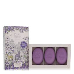 Lavender Perfume by Woods of Windsor, 3 x 60 g Fine English Soap for Women