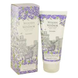 Lavender Body Cream by Woods of Windsor, 100 ml Nourishing Hand Cream for Women
