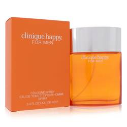 Happy Cologne by Clinique, 3.4 oz Cologne Spray for Men