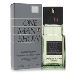 One Man Show Cologne by Jacques Bogart, 3.3 oz Eau De Toilette Spray for Men