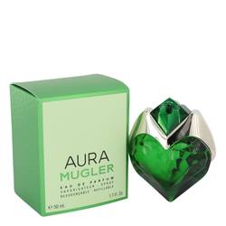 Mugler Aura Perfume by Thierry Mugler, 50 ml Eau De Parfum Spray Refillable for Women