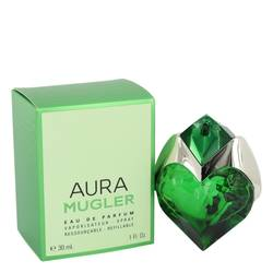Mugler Aura Perfume by Thierry Mugler, 1 oz Eau De Parfum Spray Refillable for Women
