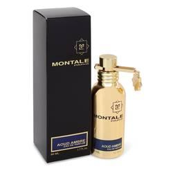 Montale Aoud Ambre Perfume by Montale, 1.7 oz Eau De Parfum Spray (Unisex) for Women