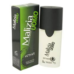 Malizia Uomo Cologne by Vetyver, 1.7 oz Eau De Toilette Spray for Men