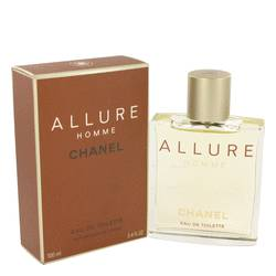 Allure Cologne by Chanel, 3.4 oz EDT Spray for Men