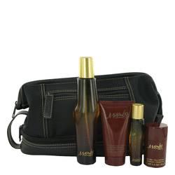 Mambo Gift Set by Liz Claiborne Gift Set for Men Includes 3.4 oz Cologne Spray + 0.5 oz Cologne Spray + 2.5 oz Body Moisturizer + 1 oz Deodorant + Toiletry Bag