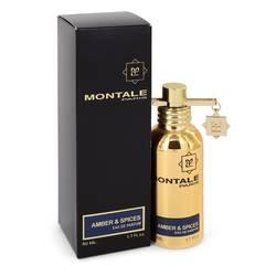 Montale Amber & Spices Perfume by Montale, 1.7 oz Eau De Parfum Spray (Unisex) for Women