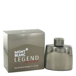 Montblanc Legend Intense Cologne by Mont Blanc, 50 ml Eau De Toilette Spray for Men