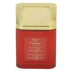 Must De Cartier Perfume by Cartier, 1.6 oz Parfum Spray Refill (unboxed) for Women