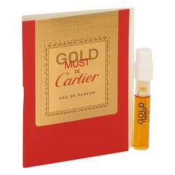 Must De Cartier Gold Sample by Cartier, 1 ml Vial (sample) for Women from FragranceX.com