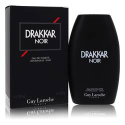 Drakkar Noir Cologne by Guy Laroche, 3.4 oz Eau De Toilette Spray for Men