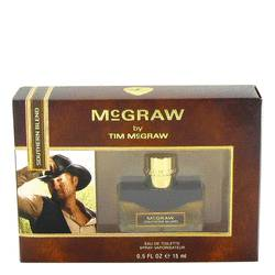 Mcgraw Southern Blend Mini by Tim McGraw, 15 ml Mini EDT Spray for Men from FragranceX.com