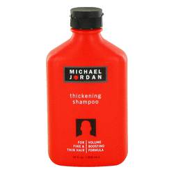 Michael Jordan Shampoo by Michael Jordan, 300 ml Thickening Shampoo for Fine & Thin Hair for Men