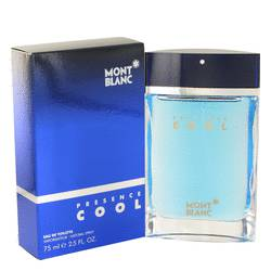 Presence Cool Cologne by Mont Blanc, 2.5 oz Eau De Toilette Spray for Men