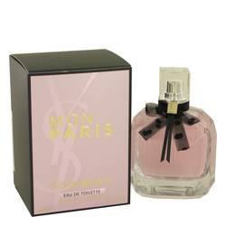 Mon Paris Perfume by Yves Saint Laurent, 3.4 oz Eau De Toilette Spray for Women