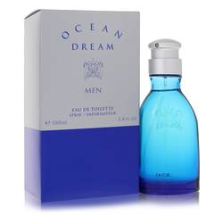 Ocean Dream Cologne by Designer Parfums ltd, 3.4 oz Eau De Toilette Spray for Men