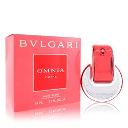 Omnia Coral Perfume by Bvlgari, 2.2 oz EDT Spray for Women